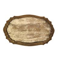 Roomers Поднос, 54х33х3 см, золотистый