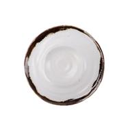 Roomers Тарелка глубокая E664, 24.5 см, коричневая