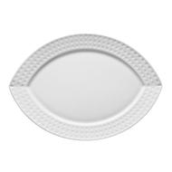 Chef&Sommelier Блюдо овальное Satinique, 26 см, белое