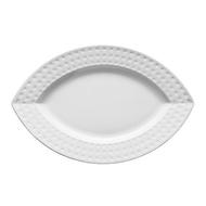 Chef&Sommelier Блюдо овальное Satinique, 22.5 см, белое