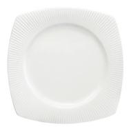 Chef&Sommelier Тарелка квадратная Satinique, 25.5х25.5 см, белая