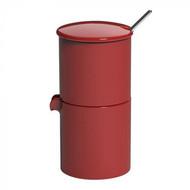Loveramics Сахарница с молочником и ложечкой Bond (90 мл), красная