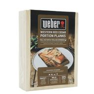 Weber Кедровые доски для копчения малые, 15х10 см, 4 шт