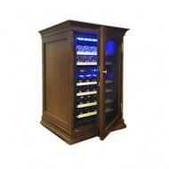 Cold Vine Шкаф для длительного хранения вина, двухзонный, 34 бутылки