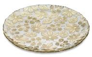 IVV Блюдо круглое плоское Naturalia, 37 см, золотое