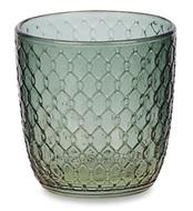 Стакан для напитков Sixties (310 мл), сине-зеленый, узор Одри