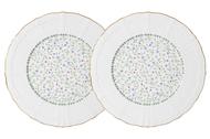 Colombo Набор десертных тарелок Грация, 20.5 см, 2 шт.