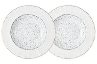 Colombo Набор суповых тарелок Грация, 23 см, 2 шт.