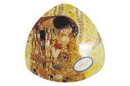 Carmani Тарелка треугольная Поцелуй (Г.Климт), 17х17 см