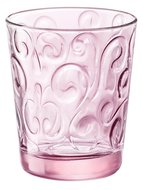 Bormioli Rocco Набор стаканов Naos (295 мл), розовый, 3 шт