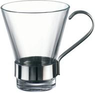 Bormioli Rocco Набор чашек с металлической ручкой Ypsilon (110 мл), 6 шт