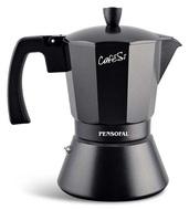 Pensofal Гейзерная кофеварка CafeSi Noir (470 мл), на 9 чашек