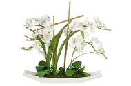 Dream Garden Декоративные цветы Орхидея белая на подставке, 56х11х58 см