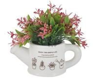 Dream Garden Декоративные цветы Букетик розовый в лейке, 14х10х17 см