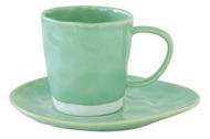 Easy Life (R2S) Чашка Interiors (250 мл), с блюдцем, мятная