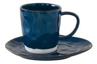 Easy Life (R2S) Чашка Interiors (250 мл), с блюдцем, синяя