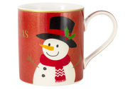 Easy Life (R2S) Кружка Glitter&Colour Snowman (350 мл)
