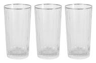 Same Набор стаканов для воды Пиза серебро (400 мл), 6 шт