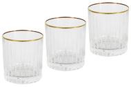 Same Набор стаканов для виски Пиза золото (250 мл), 6 шт