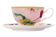 Maxwell & Williams Чашка Contessa (200 мл), с блюдцем, розовая