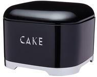 Kitchen Craft Емкость для хранения пирожных Lovello Retro black, 26.5х19.5 см