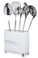 Kitchen Craft Органайзер для кухонных принадлежностей Lovello Retro Ice White, 20х10х16 см