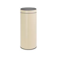 Brabantia Мусорный бак Touch Bin New (30 л), миндальный