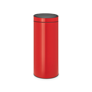 Brabantia Мусорный бак Touch Bin New (30 л), пламенно-красный