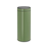 Brabantia Мусорный бак Touch Bin New (30 л), зеленый мох