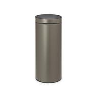 Brabantia Мусорный бак Touch Bin New (30 л), платиновый