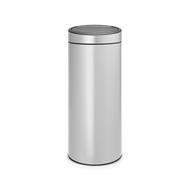 Brabantia Мусорный бак Touch Bin New (30 л), серый металлик