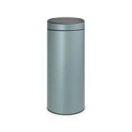 Brabantia Мусорный бак Touch Bin New (30 л), мятный металлик