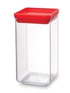 Brabantia Прямоугольный контейнер (1.6 л), красный
