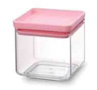 Brabantia Прямоугольный контейнер (0.7 л), розовый