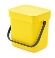 Brabantia Ведро для мусора Sort&Go (3 л), желтое