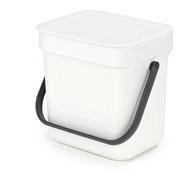 Brabantia Ведро для мусора Sort&Go (3 л), белое