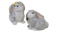 Certified International Corp Набор соль и перец 3D Милый кролик, 2 пр