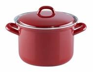 Riess Кастрюля Ceraglas red (1 л), 14 см
