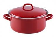 Riess Кастрюля Ceraglas red (1.5 л), 18 см