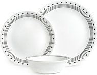 Corelle Набор посуды City Block, 12 пр