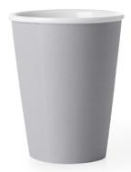 Viva Scandinavia Чайный стакан Andy (320 мл), 11х9 см, серый