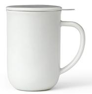Viva Scandinavia Чайная кружка с ситечком Minima (500 мл), 14.2 см, белая