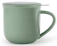 Viva Scandinavia Чайная кружка с ситечком Minima (380 мл), 9.5х9.3 см, зеленая