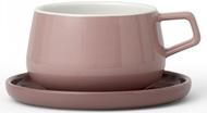 Viva Scandinavia Чайная чашка с блюдцем Ella (300 мл), терракот