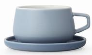 Viva Scandinavia Чайная чашка с блюдцем Ella (300 мл), голубая