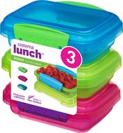 Sistema Набор контейнеров Lunch (200 мл), 11.5х9 см, 3 шт