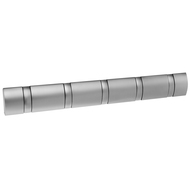 Umbra Вешалка настенная Flip, 5 крючков, 50.8 см, никель