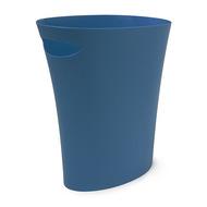 Umbra Контейнер мусорный Skinny, 34х17х33 см, синий