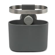 Umbra Органайзер для столовых приборов Holster, 12.9х12.2х9 см, темно-серый