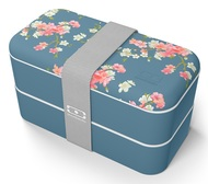 Monbento Ланч-бокс MB Original Flower mood denim (1 л), 18.5х9.4х10 см